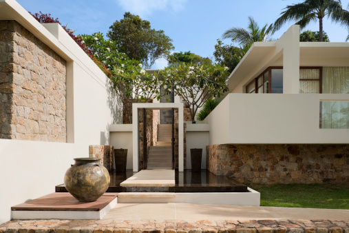 Bungalow「Villa In The Tropics」:スマホ壁紙(5)