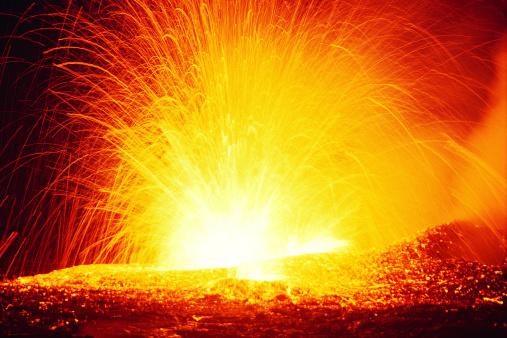 Volcano「Eruption」:スマホ壁紙(11)