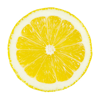 Citrus Fruit「Lemon Portion On White」:スマホ壁紙(8)