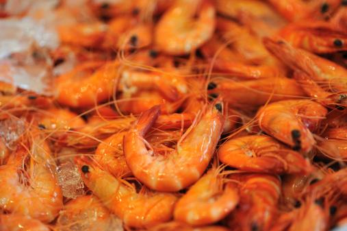 質感「Cooked Shrimp Seafood,」:スマホ壁紙(8)