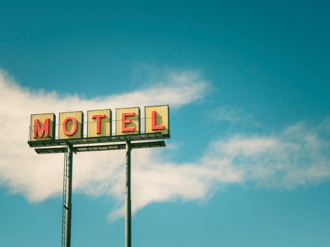 Motel Sign「Retro Motel Sign」:スマホ壁紙(13)