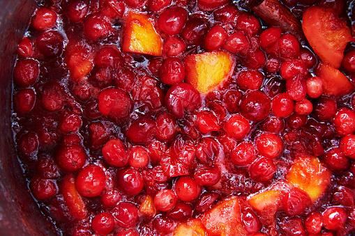 San Francisco - California「Cranberry Sauce Close Up」:スマホ壁紙(19)