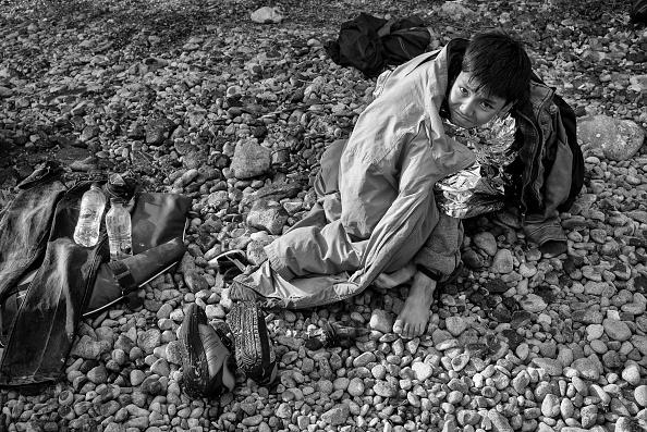 Mediterranean Sea「Refugees On Lesbos」:写真・画像(1)[壁紙.com]