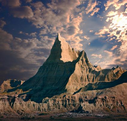 Mountain Peak「Badlands National Park」:スマホ壁紙(4)