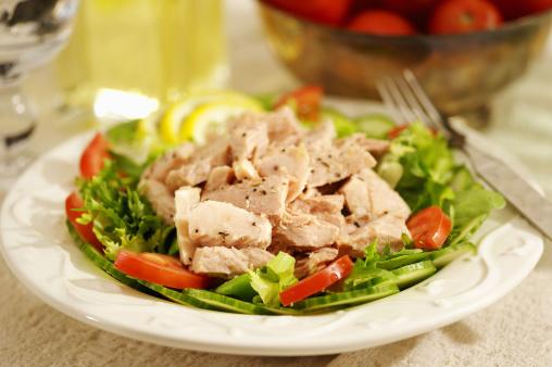 Seafood「Tuna salad」:スマホ壁紙(1)