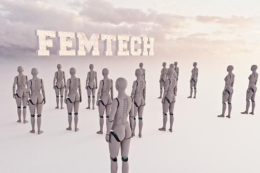 Teenager「Femtech」:スマホ壁紙(1)
