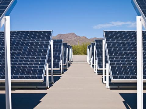 Power Equipment「Solar power plant」:スマホ壁紙(1)
