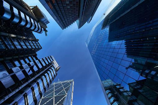 Downtown District「Modern architecture in London's Financial District」:スマホ壁紙(5)