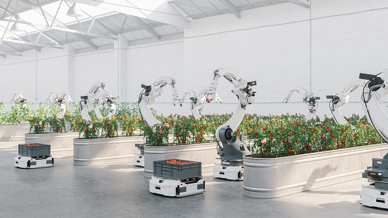 Internet of Things「Automated Agriculture With Robots」:スマホ壁紙(15)