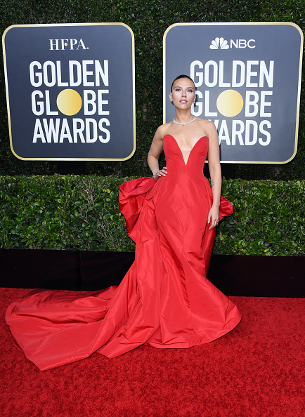 Red Dress「77th Annual Golden Globe Awards - Arrivals」:写真・画像(12)[壁紙.com]