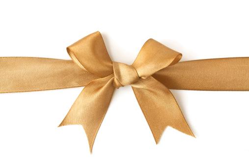 Tied Bow「golden bow」:スマホ壁紙(10)