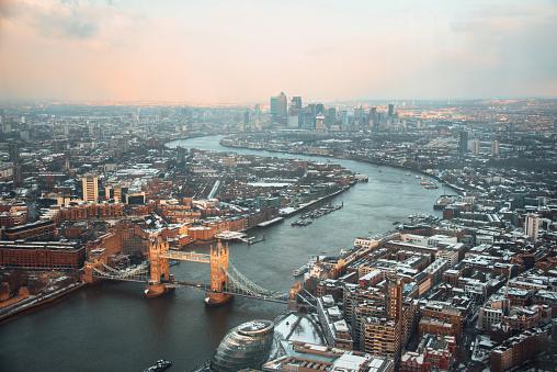 London Bridge - England「London from above」:スマホ壁紙(13)