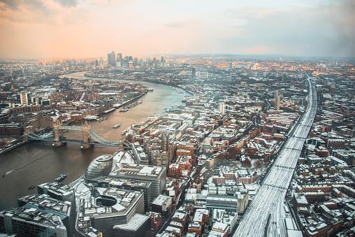 London Bridge - England「London from above」:スマホ壁紙(19)