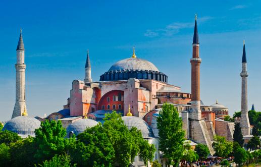 Cathedral「Turkey, Istanbul, Haghia Sophia Mosque」:スマホ壁紙(17)