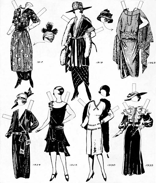 Clipping Path「The Gallery Of Historic Costume: Dresses Worn During The Twentieth Century」:写真・画像(8)[壁紙.com]