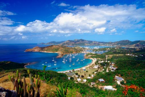 Cumulus Cloud「English Harbour and Falmouth Harbor, Antigua, Caribbean」:スマホ壁紙(8)