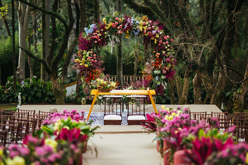Arch - Architectural Feature「Wedding ceremony at beautiful farm」:スマホ壁紙(14)