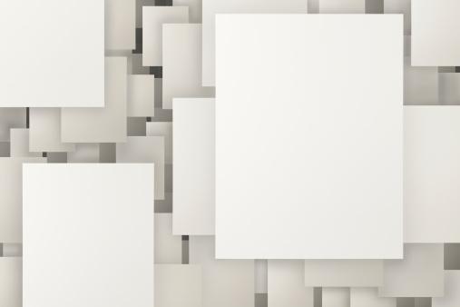 City Of Los Angeles「Floating Paper in Grid」:スマホ壁紙(7)