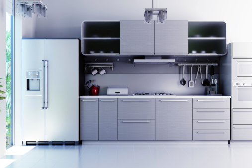 Steel「Modern Interior 3d render」:スマホ壁紙(14)