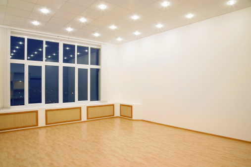 Wood Laminate Flooring「Modern Interior」:スマホ壁紙(1)