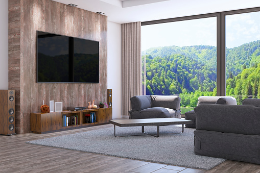 Turkey - Middle East「Modern Interior Design Of The Living Room」:スマホ壁紙(9)