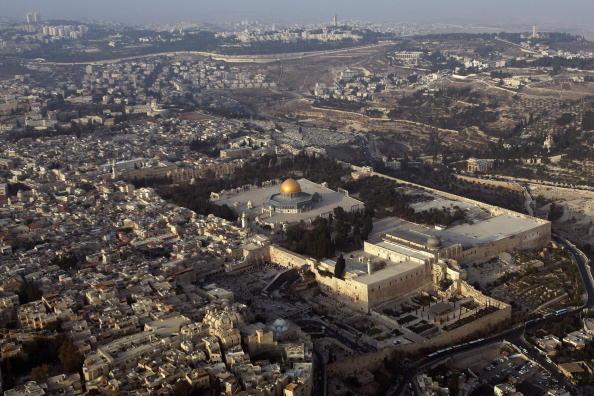 General View「Aerial Views Of Jerusalem」:写真・画像(1)[壁紙.com]
