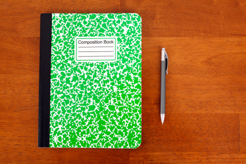 Writing「Composition Book」:スマホ壁紙(5)