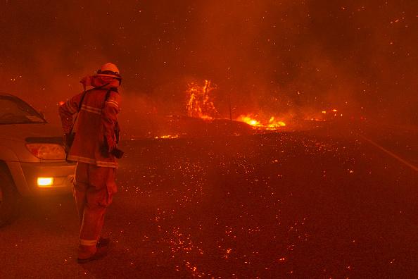 California「Creek Fire Grows Rapidly Near Shaver Lake, California」:写真・画像(5)[壁紙.com]