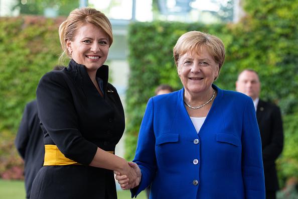 Climate Activist「New Slovak President Caputova Visits Berlin」:写真・画像(11)[壁紙.com]