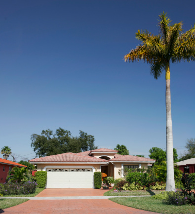 Mexico「Shot of a plain family house with tree in front」:スマホ壁紙(17)