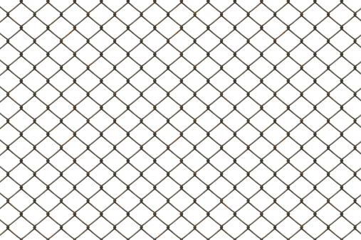 Fence「Rusty fence」:スマホ壁紙(4)