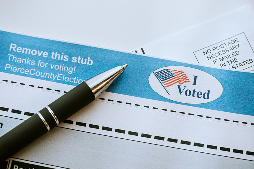 Voting Ballot「Absentee Mail-In Voting Ballot Detail」:スマホ壁紙(11)