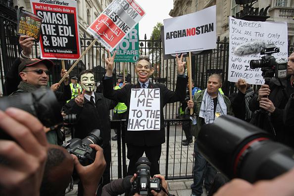 Oli Scarff「Protestors Attend The Antiwar Assembly In London」:写真・画像(0)[壁紙.com]