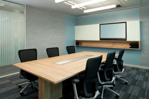 Clean「Contemporary Office Board Room」:スマホ壁紙(7)