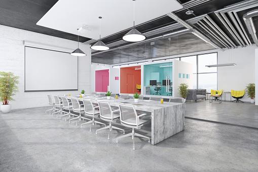 Simplicity「Contemporary open plan office interior」:スマホ壁紙(0)