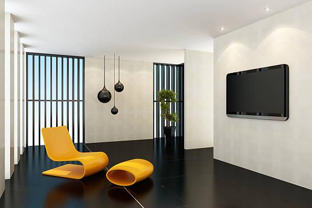 Contemporary TV Room:スマホ壁紙(壁紙.com)