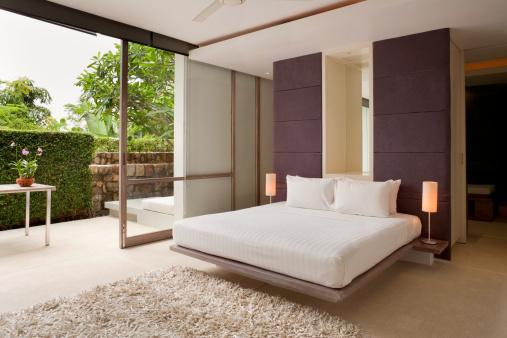 Bungalow「Contemporary Villa Bedroom」:スマホ壁紙(10)