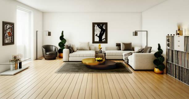 Contemporary Living Room:スマホ壁紙(壁紙.com)