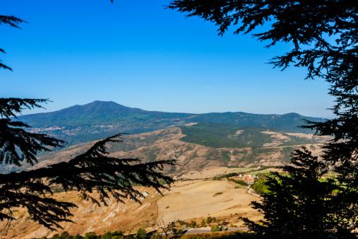 Monte Amiata「View from the Rocca, Amiata mountain」:スマホ壁紙(14)