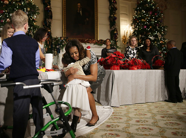 Christmas Decoration「Michelle Obama Introduces 2013 White House Holiday Decorations」:写真・画像(7)[壁紙.com]