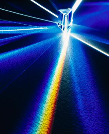 Change「Prism refracting light」:スマホ壁紙(11)