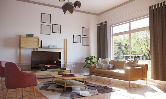 House「Minimalist Living Room Interior」:スマホ壁紙(7)