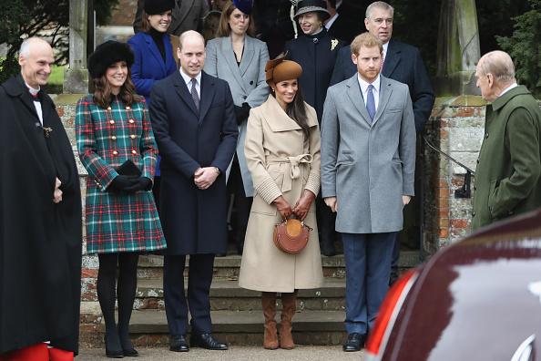 Christmas「Members Of The Royal Family Attend St Mary Magdalene Church In Sandringham」:写真・画像(1)[壁紙.com]