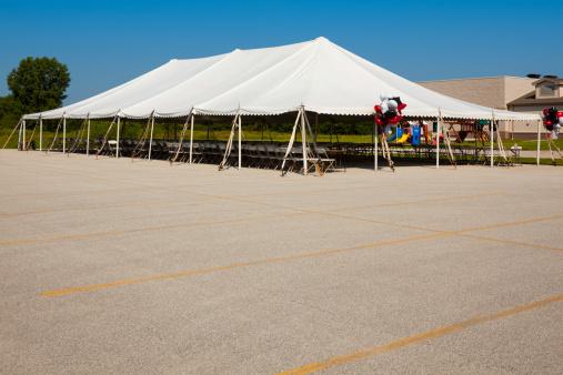 Entertainment Tent「Empty Pavilion Tent Before Big Event」:スマホ壁紙(18)
