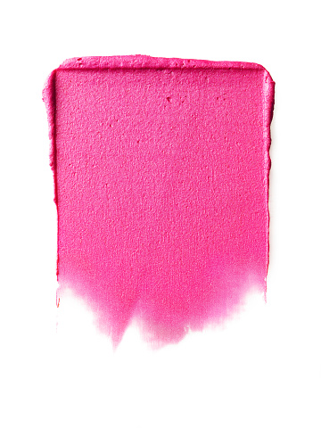 Brush Stroke「Creative cosmetic smear on white background」:スマホ壁紙(1)