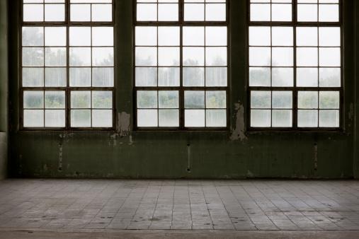 Old-fashioned「Warehouse Glass Facade」:スマホ壁紙(0)