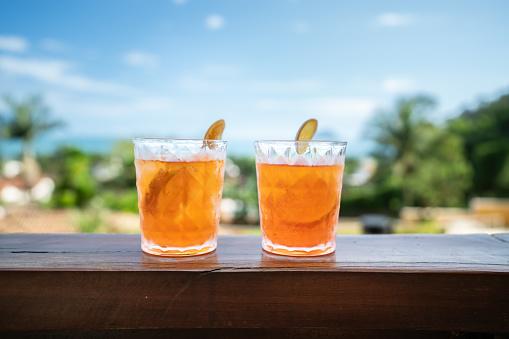 Tasting「Aperol Cocktail Drink」:スマホ壁紙(2)