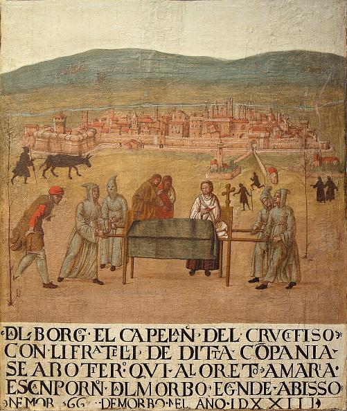 Bubonic Plague「Pilgrimage Of The Compagnia Del Crocifisso To Loreto」:写真・画像(18)[壁紙.com]