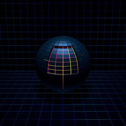 Quantum Computing「Sphere glowing from the inside」:スマホ壁紙(8)