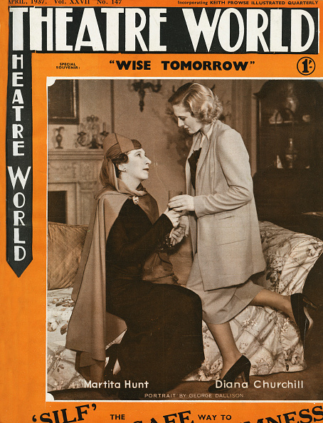 Entertainment Event「Martita Hunt and Diana Churchill in 'Wise Tomorrow'  by Stephen Powys」:写真・画像(3)[壁紙.com]